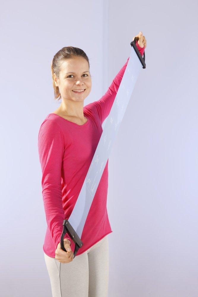 Ultrasport Yogaset 6-teilig mit Ball Fitness Starter Set f/ür Zuhause Yogamatte Starterset mit Zubeh/ör f/ür Yoga /& Pilates 2 Yogabl/öcke /& Latexband Pumpe