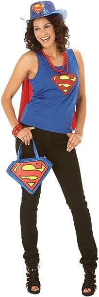 Rubbies - Disfraz de Supergirl para mujer, talla M (889376M ...
