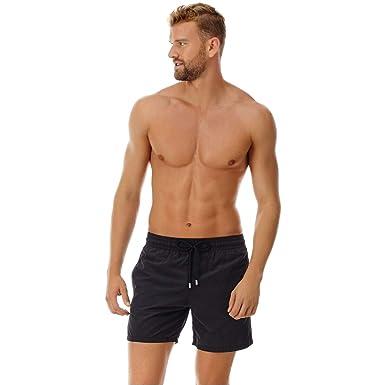 254f10a1c7 Vilebrequin Men's Moorea Solid Swim Trunk | Amazon.com