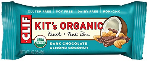 KIT'S Organic - Fruit and Nut Bar - Dark Chocolate Almond Coconut - (1.62 Ounce Paleo Snack Bar,12 Count)