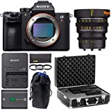 Sony Alpha a7RIII Mirrorless Digital Camera, Veydra 25mm T2.2 E Mount Lens Bundle