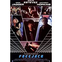 Freejack Poster Movie 11x17 Emilio Estevez Mick Jagger Rene Russo Anthony Hopkins