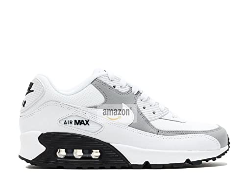 Air 90 Max Hombre Zapatillas Running Casual Shoes Outdoor Fitness Sneaker Blanco (44)