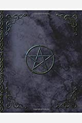 Writing Journal: Lined Paper Notebook for Creative Writers or Personal Use (A large SOFTBACK with a PRINTED IMAGE of leather from our Pentacle in Black range) (Notebooks and Journals) Paperback