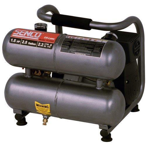 Senco PC0968 Compressor, 1.5-Horsepower (PEAK) 2.5-Gallon by Senco