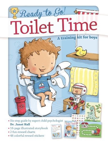 Toilet Time: A Training Kit for Boys (Ready to Go!) (Poop Chart Poster)