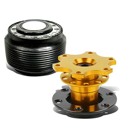 "For Mazda 626/Miata/Protege/RX7/RX8 Hub Adapter+Gold 2"" Quic"