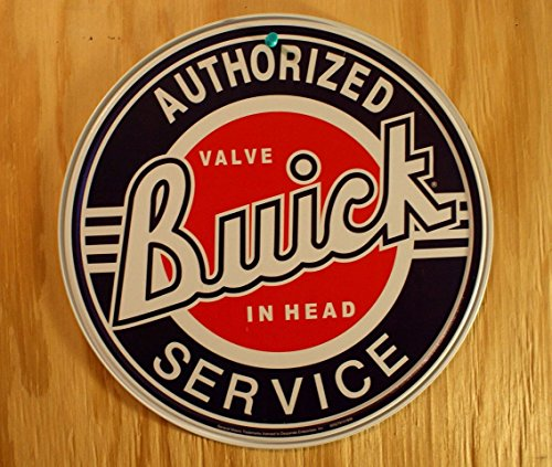 Buick Service Tin Sign 12 x 12in