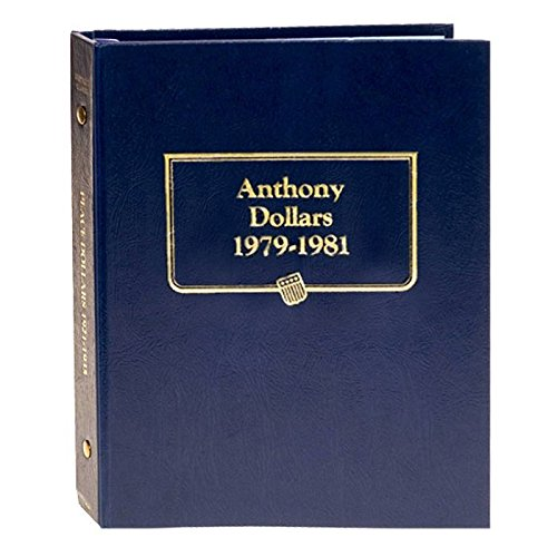 Whitman US Susan B. Anthony Dollar Coin Album 1979 - 1981 #9149