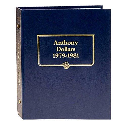 (Whitman US Susan B. Anthony Dollar Coin Album 1979 - 1981 #9149)
