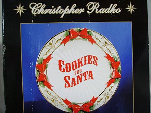 Christopher Radko Cookies for Santa Porcelain Christmas Plate 12