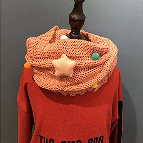 68fbf3bc4b8d Amazon.com  SED Children s Knitted Scarf All-Match Baby Warm Scarf ...