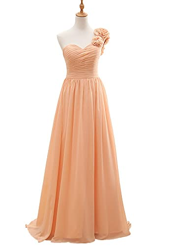 Amazon.com: Vnaix Bridals Womens Beautiful One Shoulder Flower Evening Dress 2015: Clothing