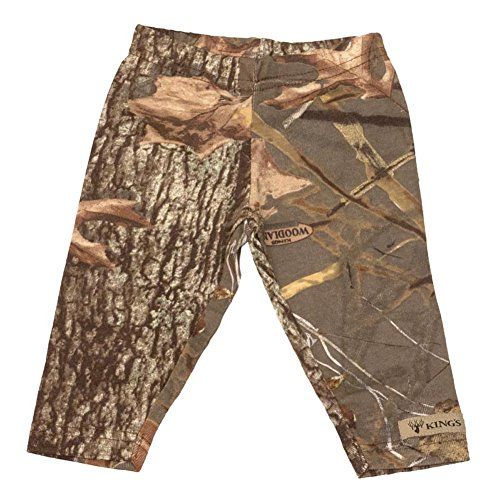 King's Camo - Infant Toddler Leggings - Woodland Shadow