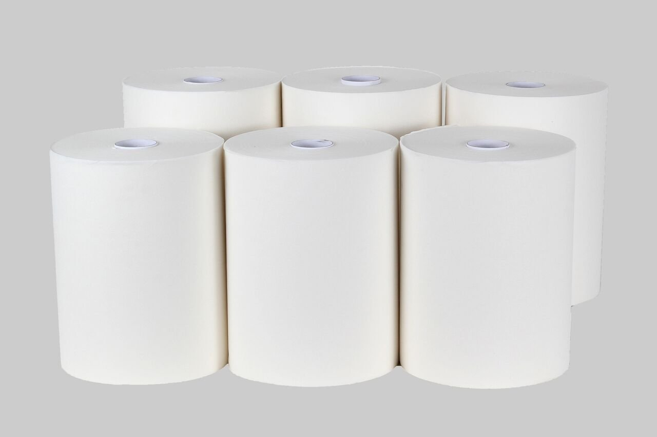 EnMotion Compatible Paper Towels, Cucina Prime High Capacity Towels, 10'' Roll, (6 Rolls of approx. 800 Feet)