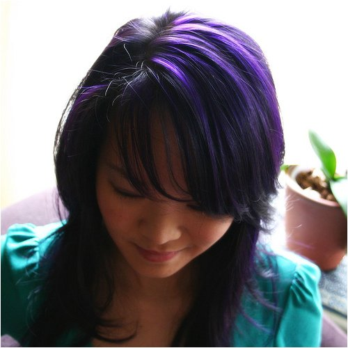 Amazon Com Special Effects Hair Dye Deep Purple Hair Coloring