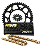 Pro Taper Front & Rear Sprockets & PT520XRC X-Ring Chain Kit - 13/50 BLACK - KTM 125-500 EXC/MXC/SX/SXF/XC/XCF/XCW