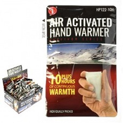 Air Activated Hand Warmers, 10 Hours Of Continuous Heat. 36 Count by GET001