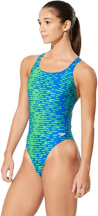 Speedo Women's Swimsuit One Piece ProLT Super Pro Printed Adult Team Colors