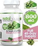 Pure-Green-Coffee-Bean-Extract-800-mg-by-NutraHouse-Vitamins-90-Veggie-Capsules-per-Bottle-non-GMO-All-Natural-Weight-Loss