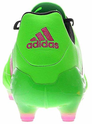 Adidas Heren Ace 16.1 Fg / Ag Leer Zonne-groen / Schokroze / Zwart