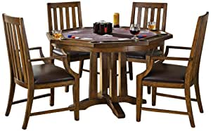 Home styles 5900 318 arts and crafts 5 piece for Arts and crafts 5 piece dining set