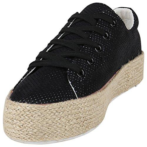 Sneaker Flandell Bexhill Paradis Noir Bottes Femmes Plateau Imprime AwgaSxWFqE
