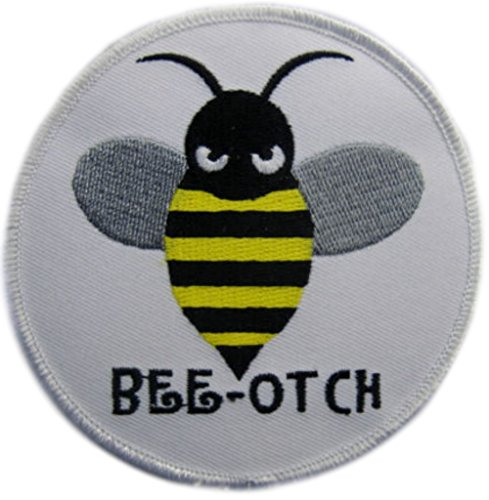 Bumble Bee Embroidered ([Single Count] Custom and Unique (3 1/2