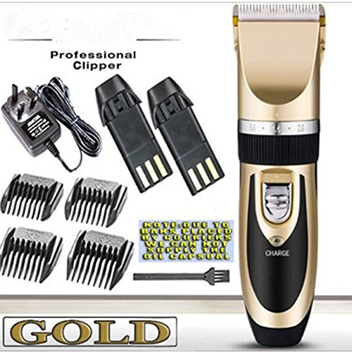 Super Quiet Cordless battery Electric Hair Cutting Machine RECHARGEABLE...