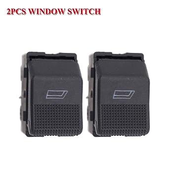 Fincos - Par de interruptores eléctricos para VW Hatchback Lupo ...