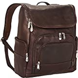 Mancini Leather Goods Columbian 15.6'' Laptop Backpack with RFID Secure Pocket