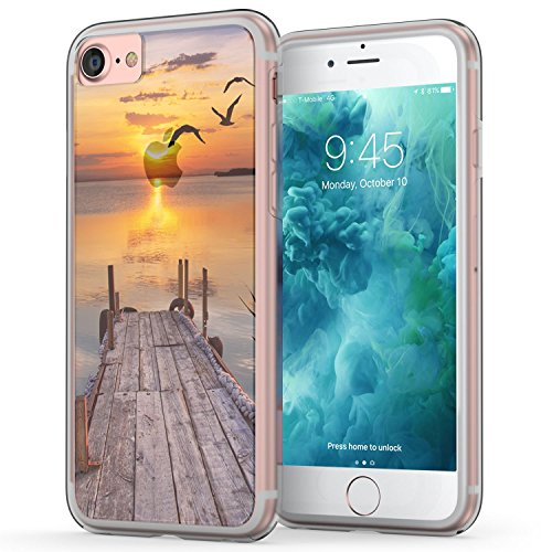 iphone-7-case-true-color-translucent-landscape-collection-lake-sunset-printed-on-clear-hybrid-cover-