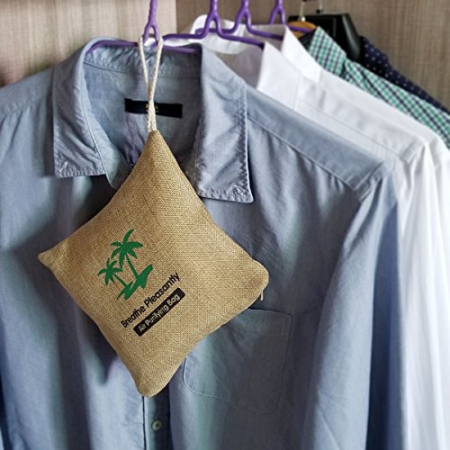 Kangdun 500g Natural Home Deodorizer Bag Coconut Shell
