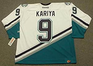 2bdcce031 ... PAUL KARIYA Anaheim Mighty Ducks 2003 CCM Throwback Home NHL Jersey ...