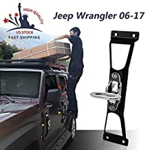 Fit For Jeep Wrangler Foot Pegs 2007-2016 Side Step Ladder Car Accessories
