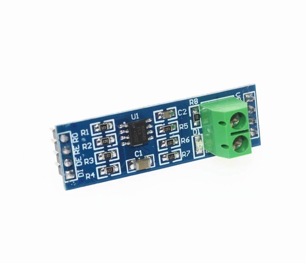 TECNOIOT x2pcs MAX485 Module RS-485 TTL to RS485 MAX485CSA Converter Module for Arduino