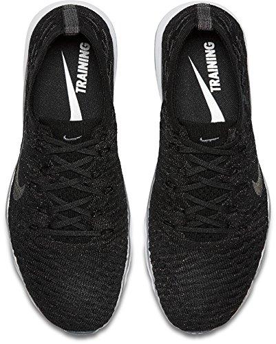 Nike Kvinnor Luft Zoom Orädda Skor Flyknit Metalliskt Tränings Us) Svart-m