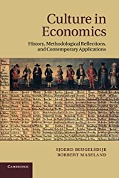 Culture in Economics: History, Methodological Reflections And Contemporary Applications