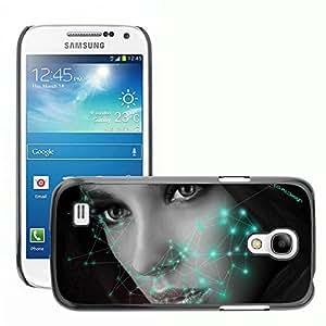 Super Stellar Slim PC Hard Case Cover Skin Armor Shell Protection // M00051482 3 face mo_5rx@yahoo.com creative // Samsung Galaxy S4 Mini i9190