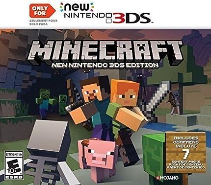 Amazoncom Minecraft New Nintendo DS Edition Nintendo DS - Minecraft bit spiele