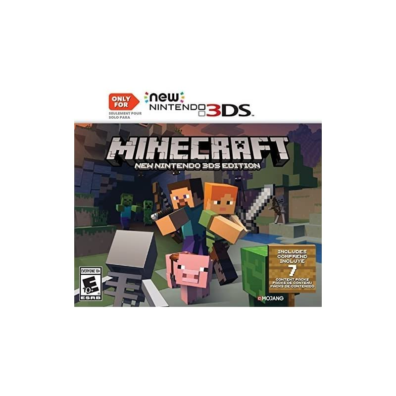 Minecraft: New Nintendo 3DS Edition - Ni