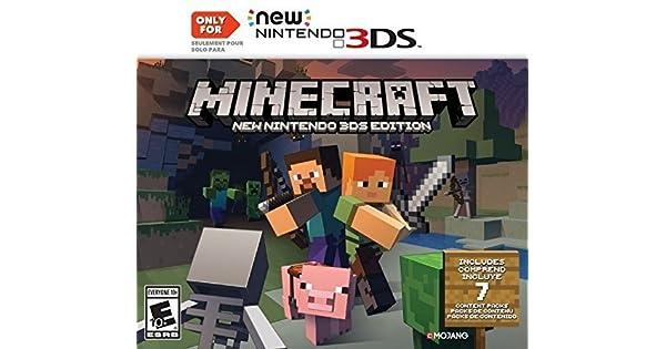 Amazoncom Minecraft New Nintendo DS Edition Nintendo DS - Minecraft tutorial spielen