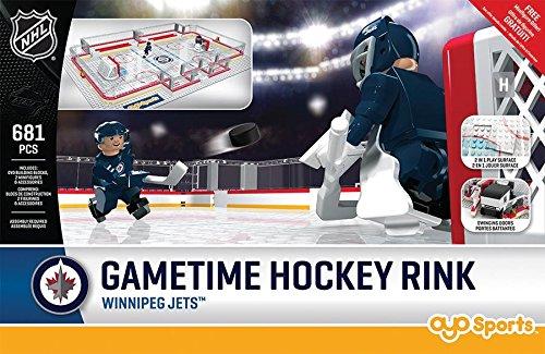 Jet Rink (NHL Winnipeg Jets Full Rink Set, Small, Black)