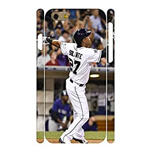 Comfortable Baseball Star Player Handmade Hard Plastic Skin for Iphone 6 Case - 4.7 Inch