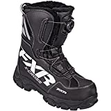 FXR Black X-Cross BOA Snowmobile Boots Mens 10.5/ Women's 12.5