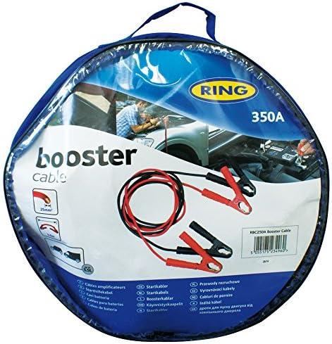 Pinze 350 Ah Ring RBC250A Cavo Batteria 25 mm Quadrati 3.5 Metri