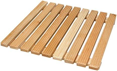 acquastilla 116887Plataforma cuadrado de madera para ducha