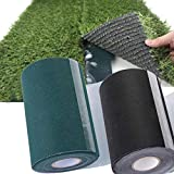 zilzol 10m Artificial Grass Tape Self Adhesive Joining Jointing Fixing Turf Tape DIY 10m x 15cm Black Hardware Tool Black