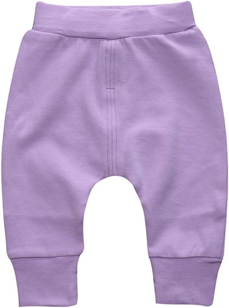 Baby Pants Infant Toddler Boy Girl Solid Pencil Pants Warm Cotton Leggings Autumn Winter Bottoms Trouser 0-2T