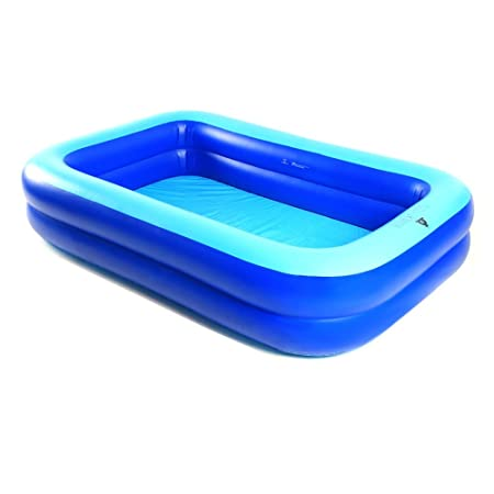 Hw bathtub Piscina hinchable transparente, material azul ...